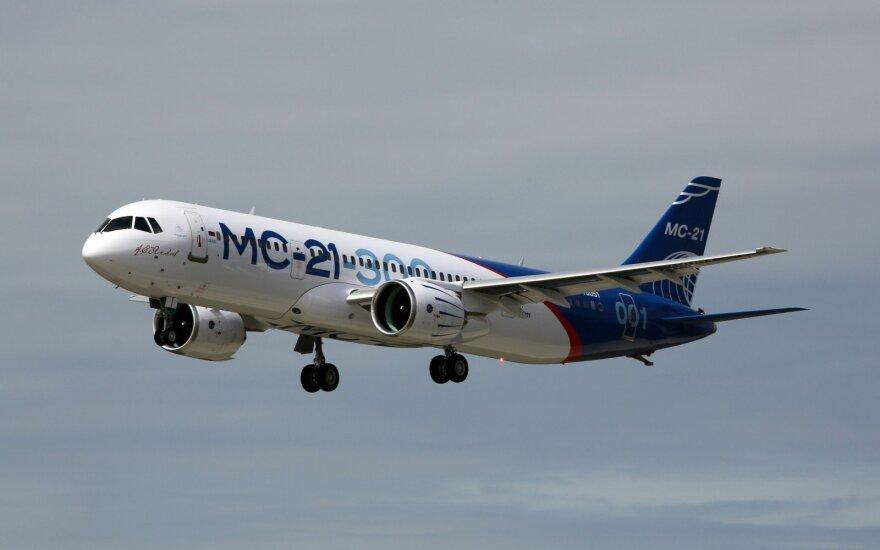 Производство нового российского самолета МС-21 оказалось под угрозой срыва из-за санкций
