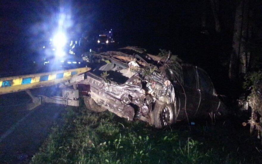В аварии водитель лишился стоп ног