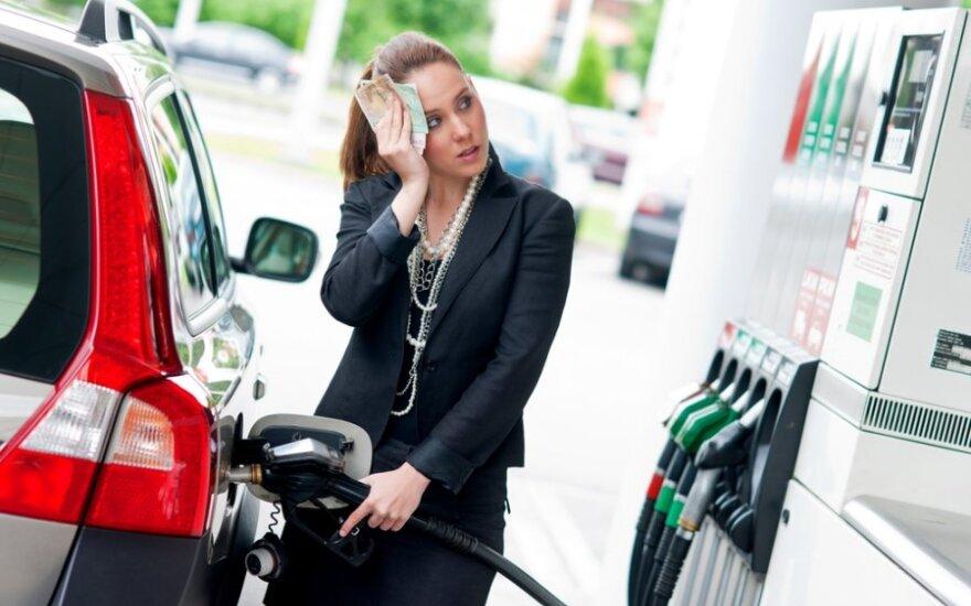 Депутаты предлагают поправкой снизить цену на бензин на 30 центов