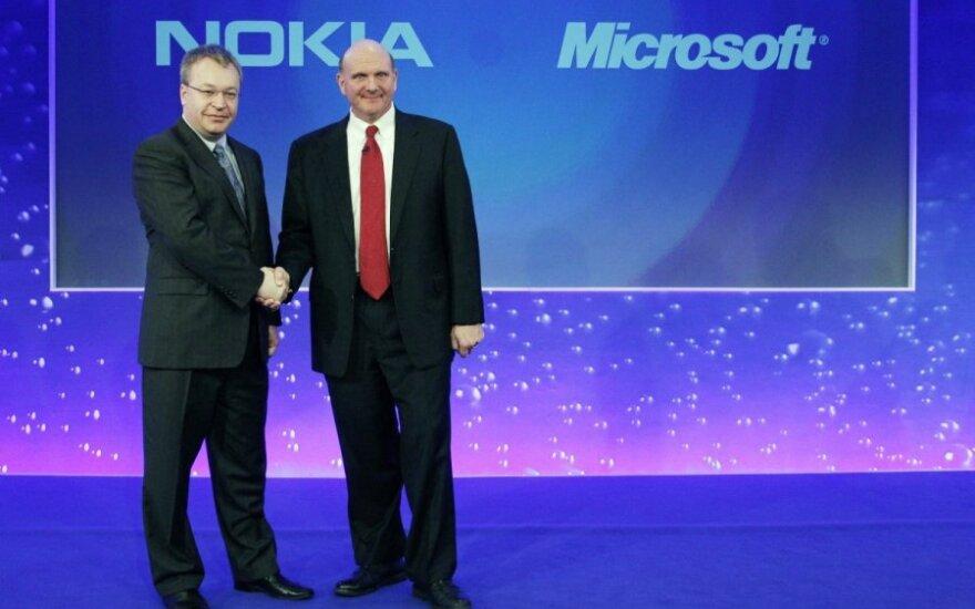 Połączenie Microsoftu i Nokii korzystne dla obu firm