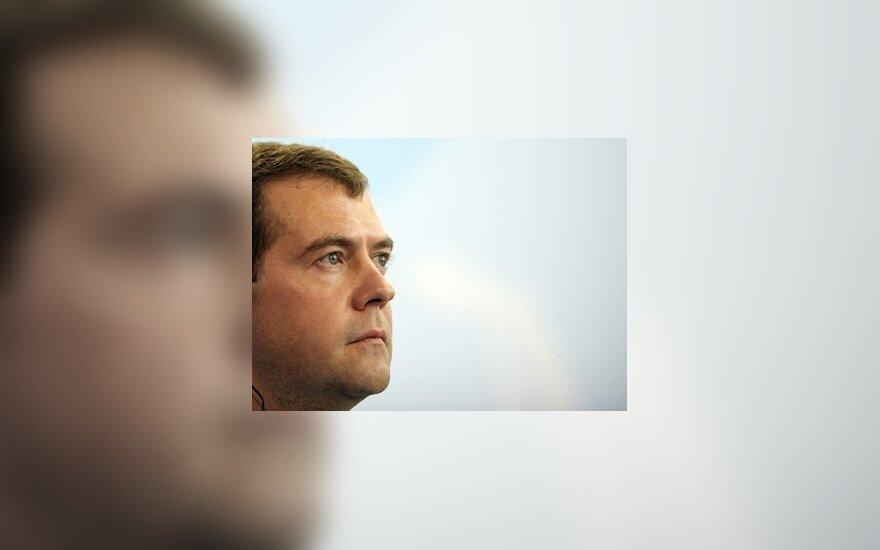 Д.Медведев надеется на сотрудничество с Д.Грибаускайте