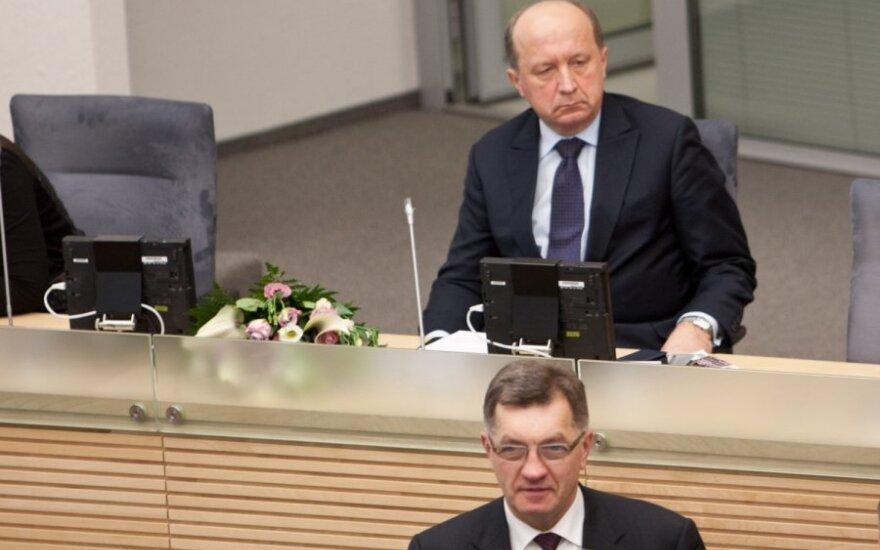"""Кубилюс: """"Газпром"""" через Achema может добиваться влияния в проекте ТСГ"""