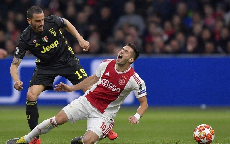 """UEFA Čempionų lygos ketvirtfinalis: """"Ajax"""" - """"Juventus"""""""