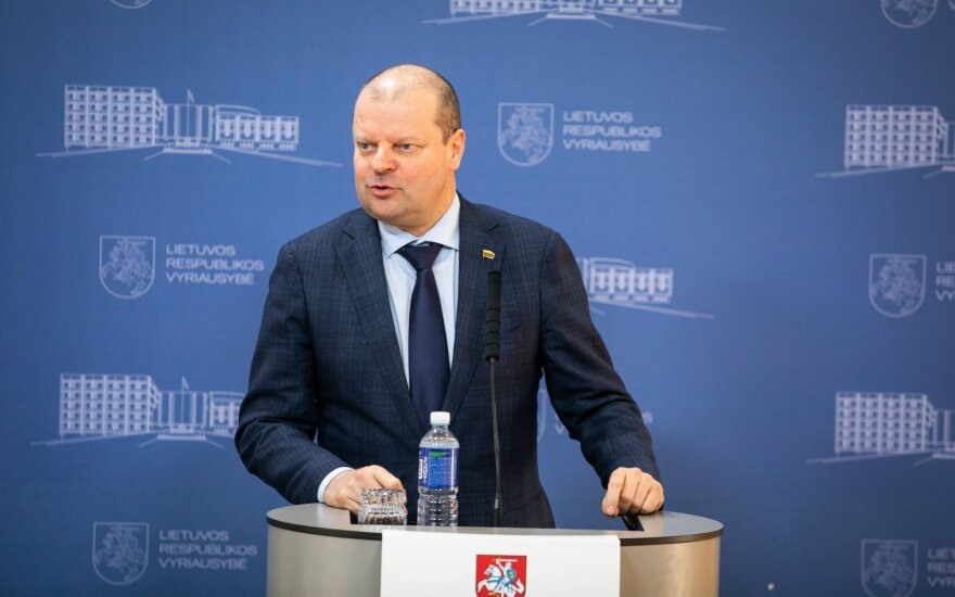 Премьер-министр о решении по Савицкасу: этот кандидат не вызывал ни у кого сомнений