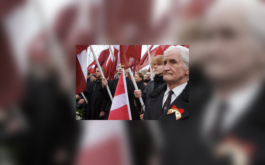 Legionierių dienos minėjimas Rygoje, Latvijoje