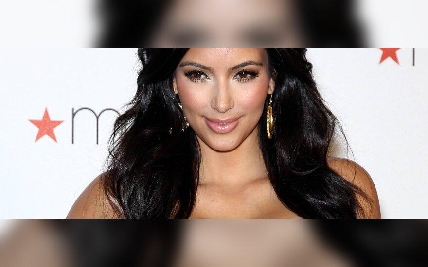 Актриса Ким Кардашиан обвинила музыкантов в похищении своей груди