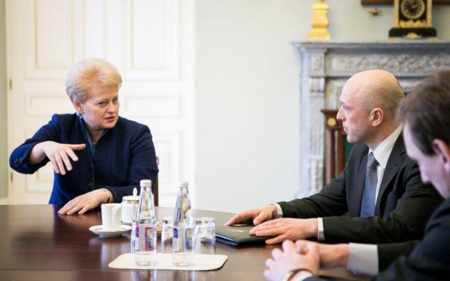 Урбанавичюс рассказал президенту о кровавом выпаде в ССР