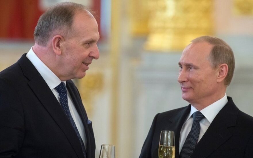 Remigijus Motuzas, Vladimiras Putinas