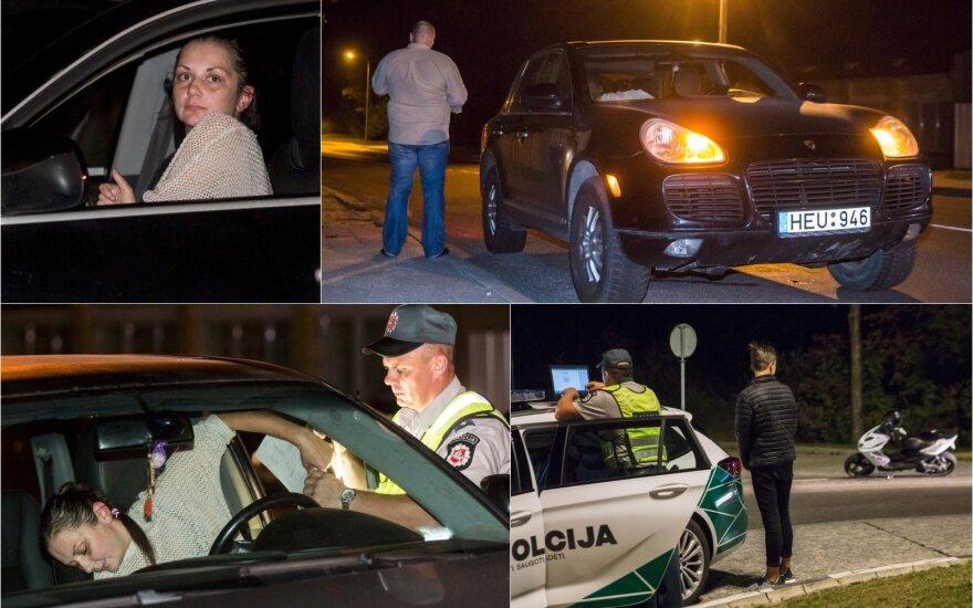 Ночной рейд: пьяная женщина за рулём Porsche с ребёнком и подросток без водительских прав
