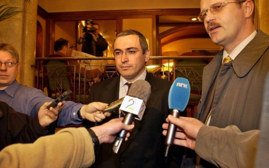 Ходорковский: Написать прошение о помиловании предложил Геншер