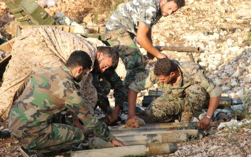 Сирийская армия начала совместно с иранскими военными наступление