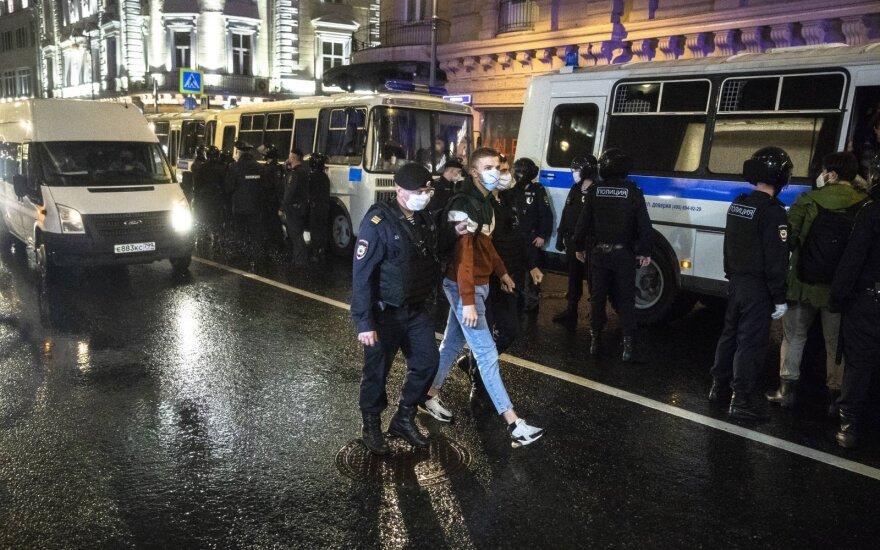 Antivyriausybinis protestas Maskvoje