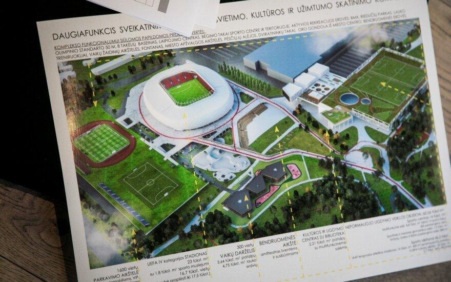 Представлен проект национального стадиона в Вильнюсе