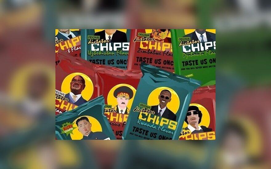 В Нидерландах выпустили чипсы с изображением Лукашенко