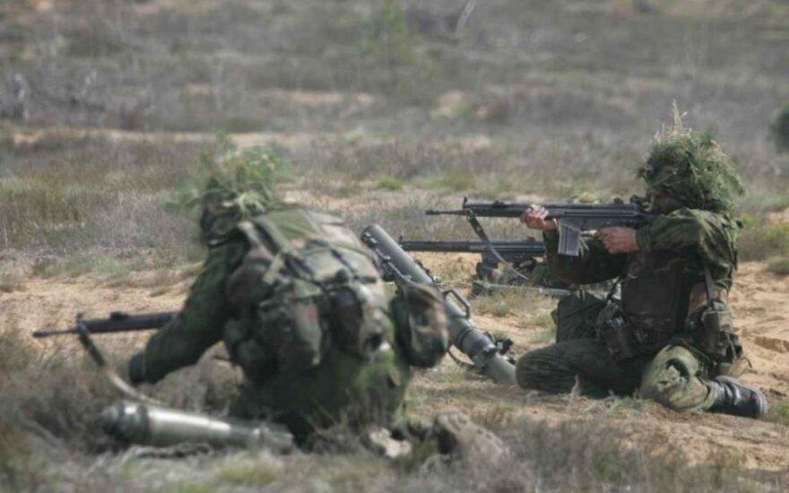 Литовская армия передаст Союзу стрелков автоматические винтовки