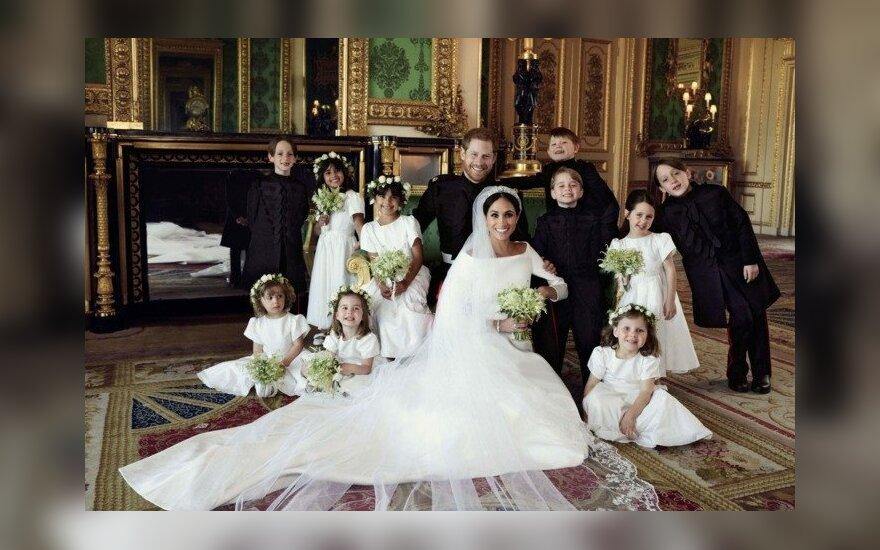 ФОТО: Опубликованы официальные снимки свадьбы принца Гарри и Меган Маркл
