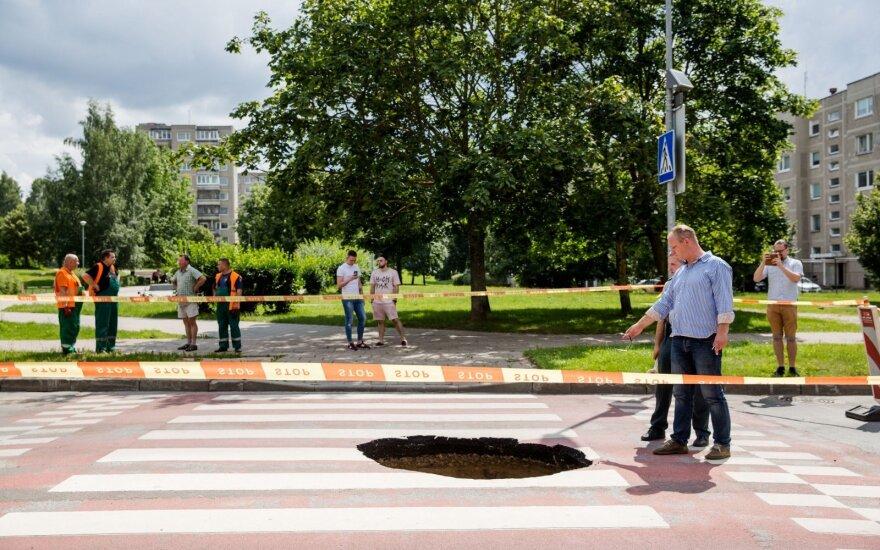 Девять из десяти пешеходных переходов в Литве являются небезопасными