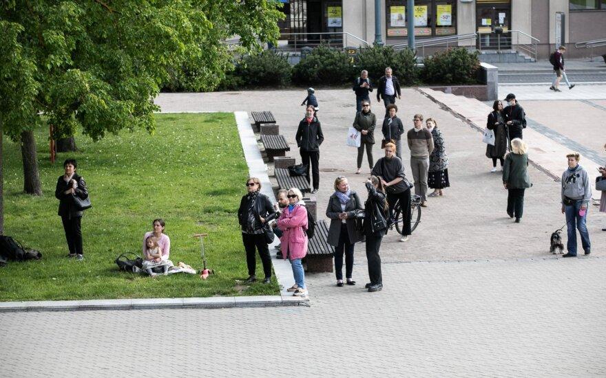 За сутки в Литве подтверждены 32 новых случая коронавируса и одна смерть