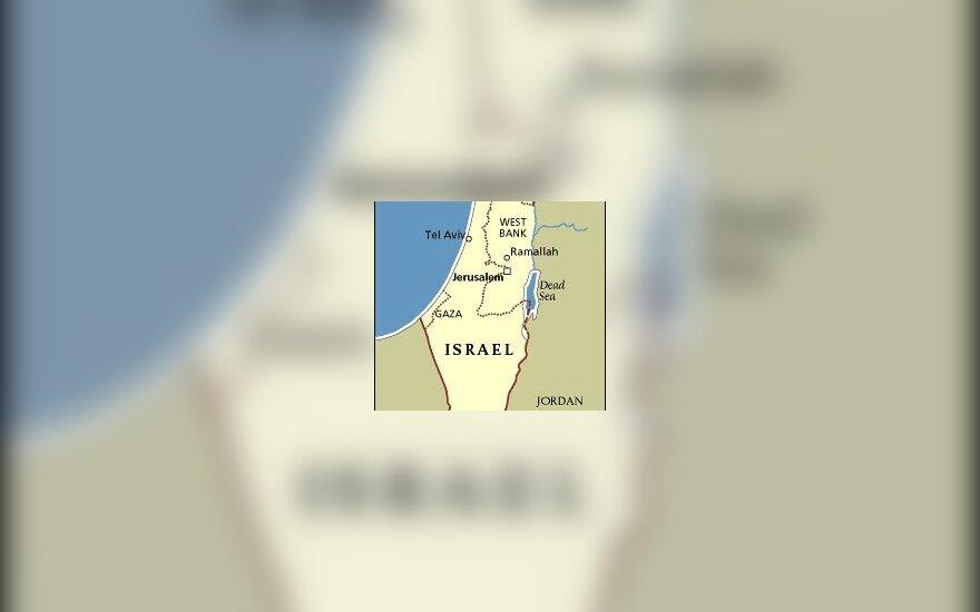 Izraelio žemėlapis