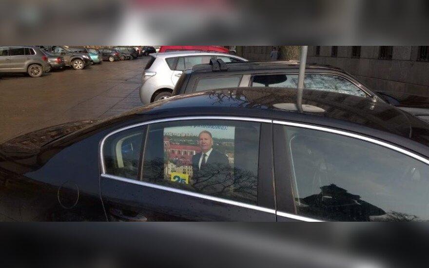 Vytauto Vasilenko automobilis