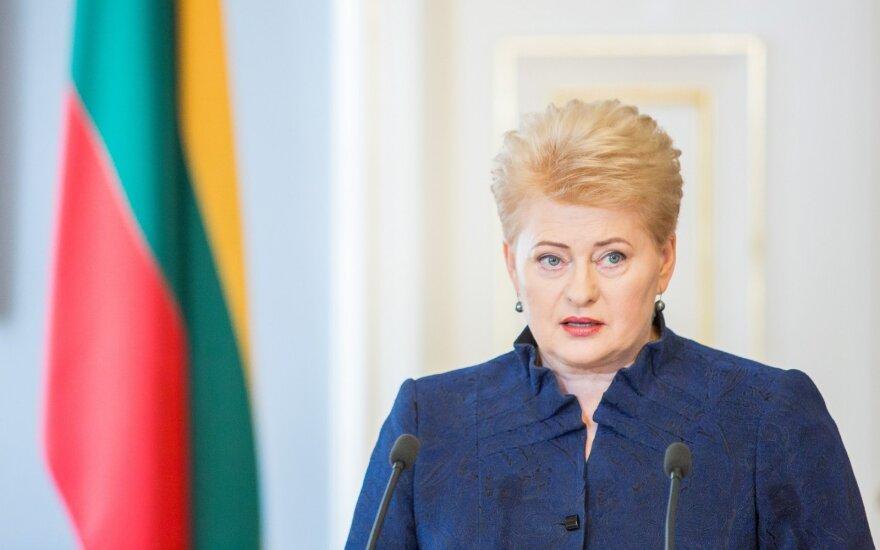 Президент Литвы: сдерживать Россию надо реальной военной мощью