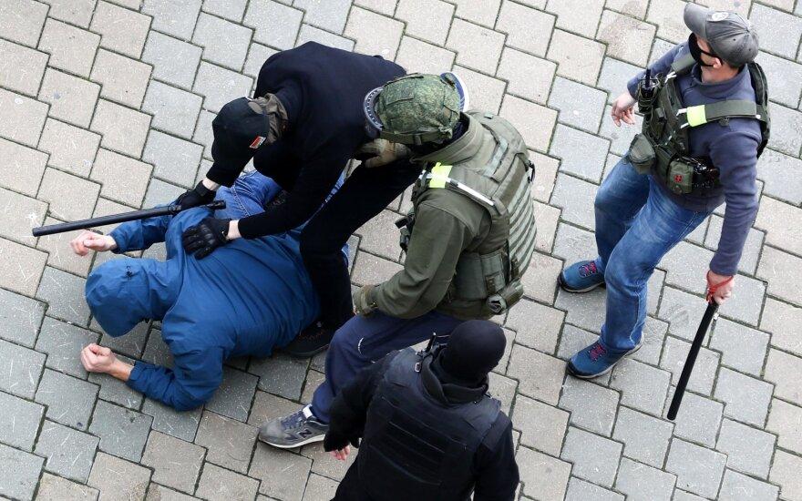 Массовые задержания произошли в Беларуси во время воскресной акции протеста