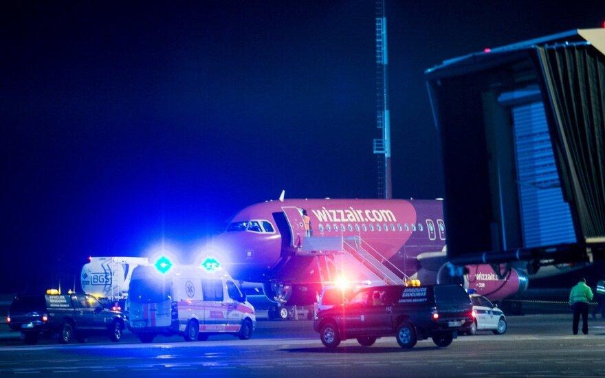 Нетрезвый пассажир сообщил о бомбе, информация не подтвердилась