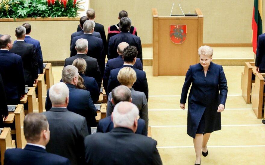 В новом сейме Литвы – шесть фракций