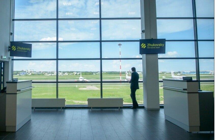 Žukovskio oro uostas Maskvoje, pradėjęs veiklą 2016 m.