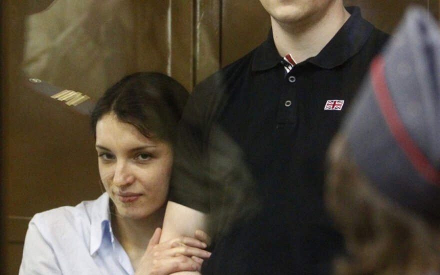 Nikita Tichonovas ir Jevgenija Chasis