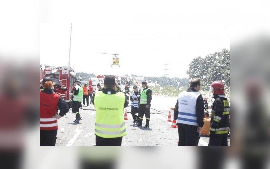 В Польше разбился украинский автобус: погибли 7 человек