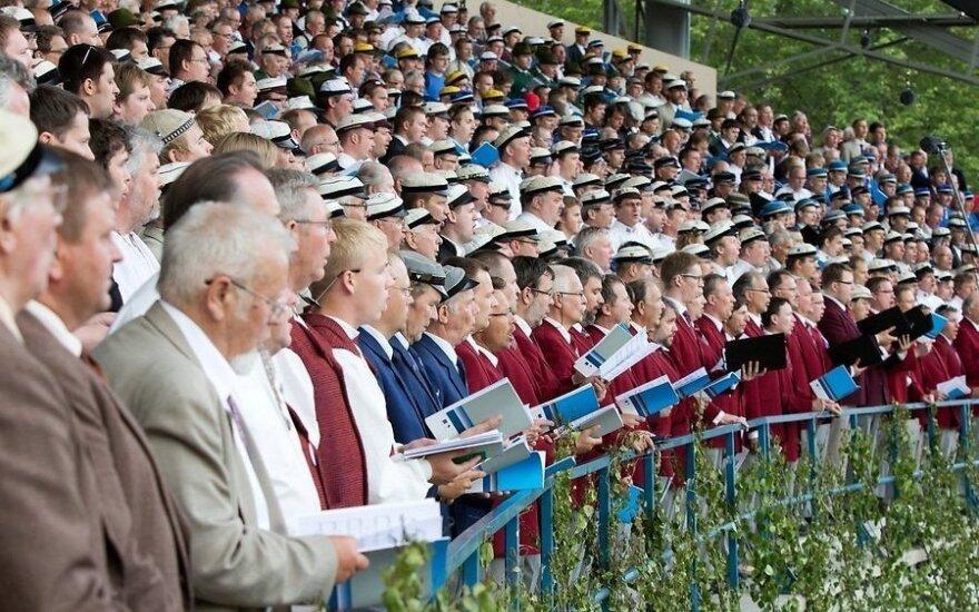 В Тарту спел огромный мужской хор стран Балтии и Скандинавии
