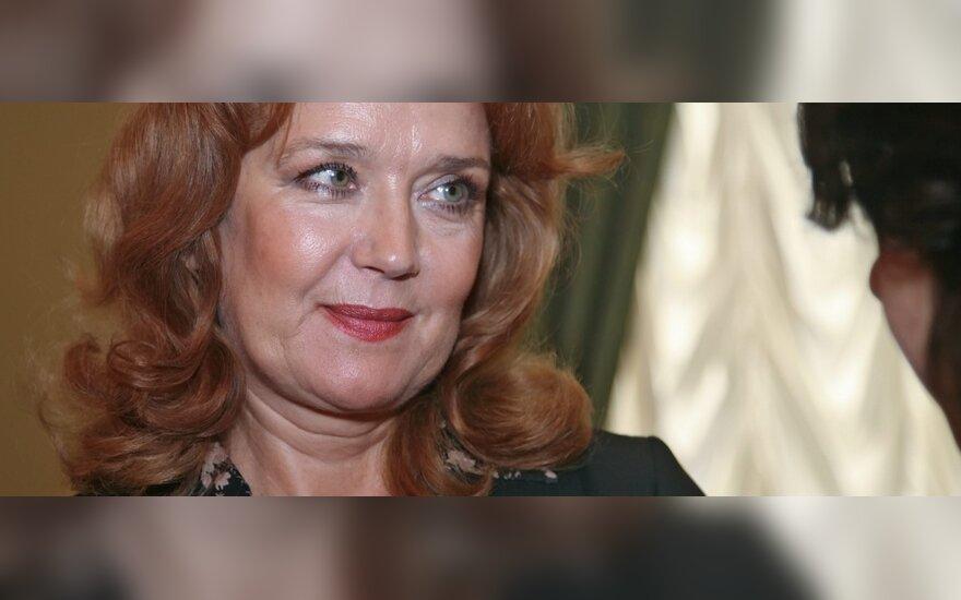 Ирина Алферова впервые за долгое время вышла в свет