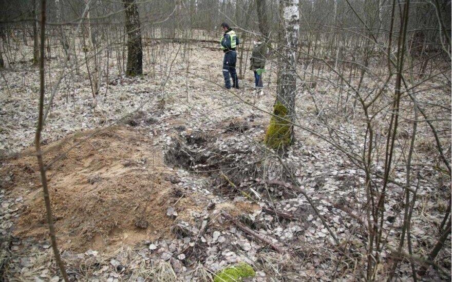 Тело Страздаускайте было закопано на территории военного аэродрома
