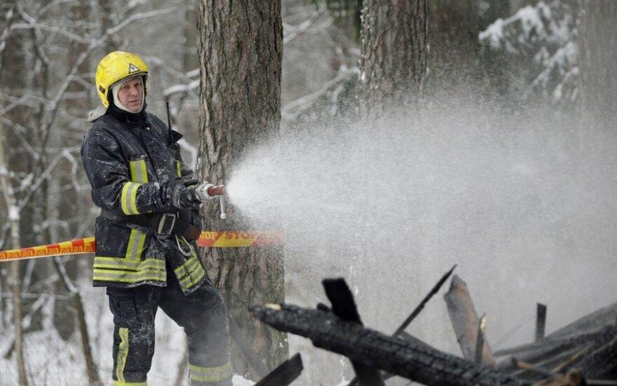 Мужчина сгорел в доме своего отца