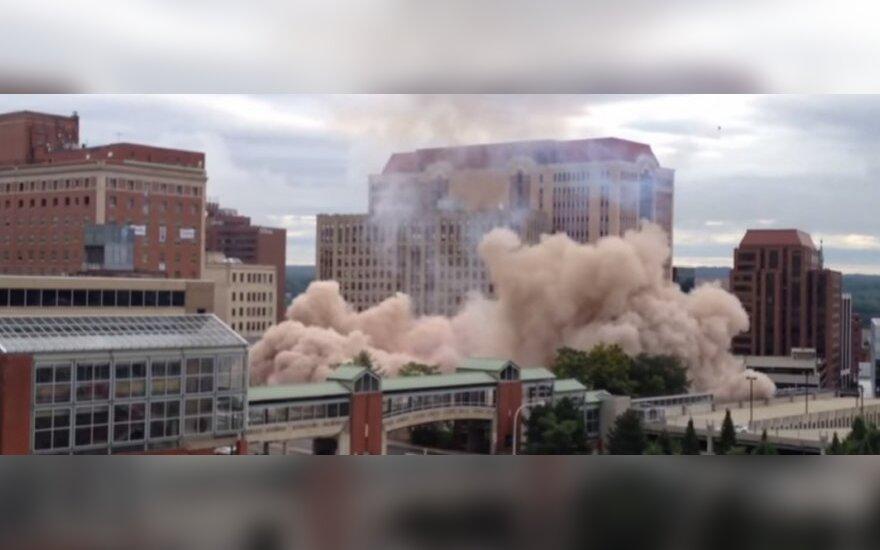 Hotel w Albany wysadzono w powietrze