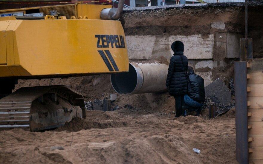 Ущерб реке Нерис от аварии сточных труб может составить 300 000 евро