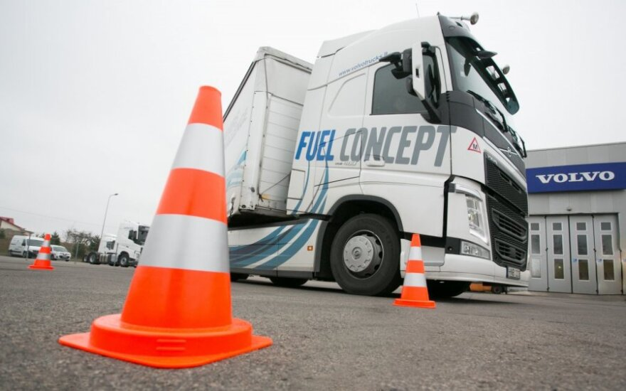 Mokymai sunkvežimių vairuotojams