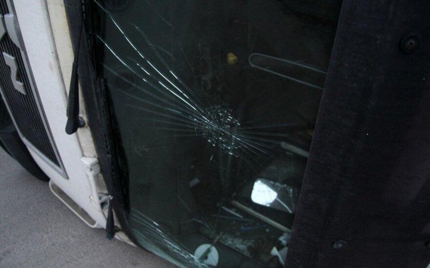В Кельмесском районе погиб водитель тягача Scania