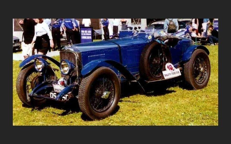 Самый первый в мире спорткар отмечает 100-летний юбилей