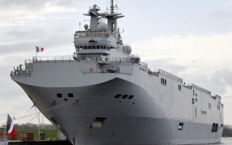 """Rosja nie otrzyma """"Mistrali"""". Francja straci ponad 1 mld euro"""