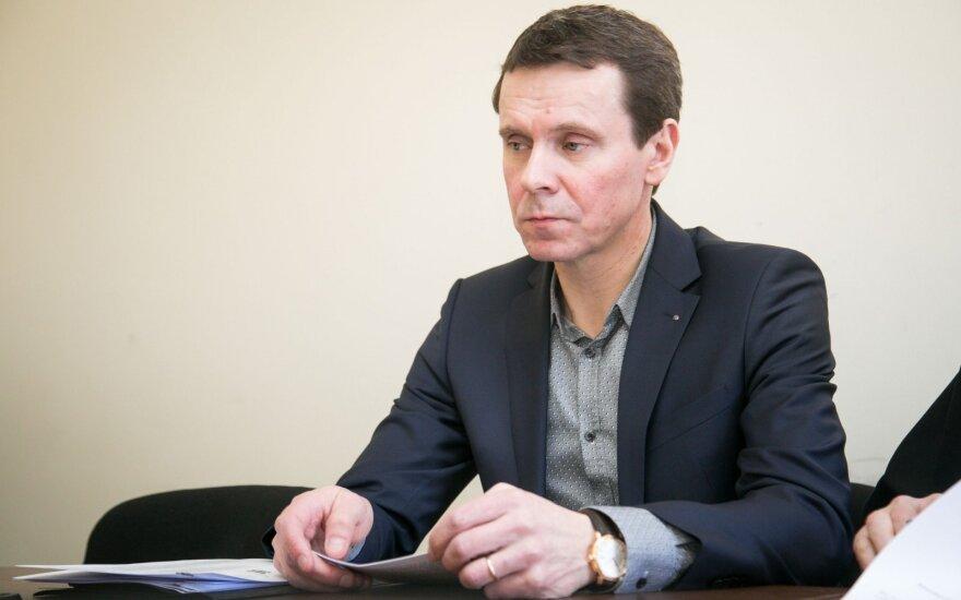 Раймондас Курляндскис уходит из MG Baltic