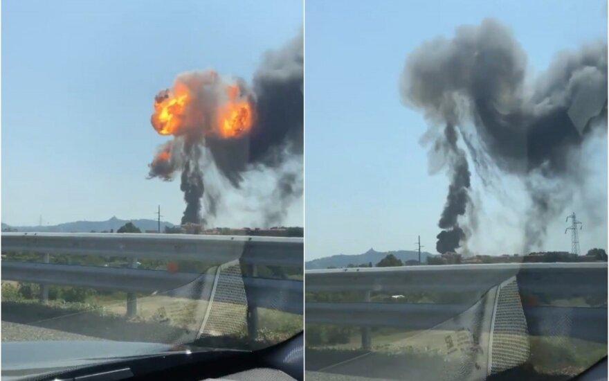 В Италии на шоссе близ аэропорта Болоньи произошел взрыв