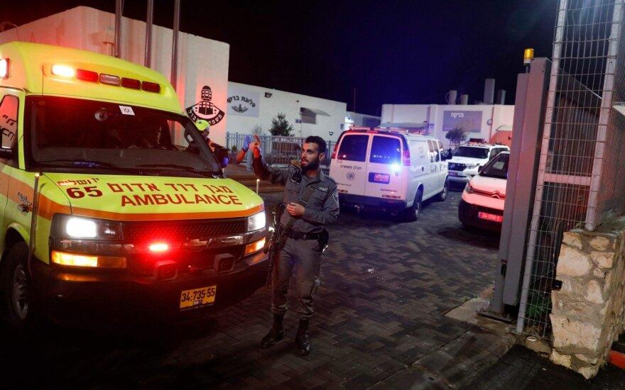 Jeruzalėje palestinietis subadė keturis policininkus