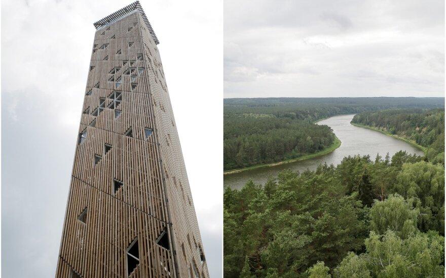 Apžvalgos bokštas Birštone