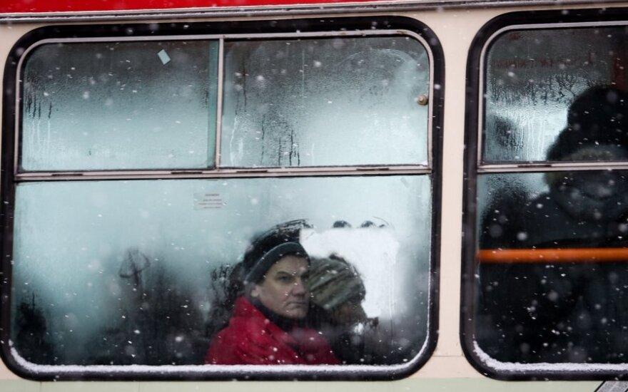 В Вильнюсе стало меньше троллейбусов