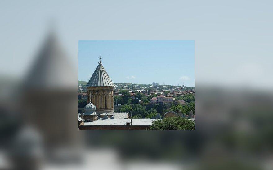 В.Адамкус откроет в Тбилиси Вильнюсский сквер