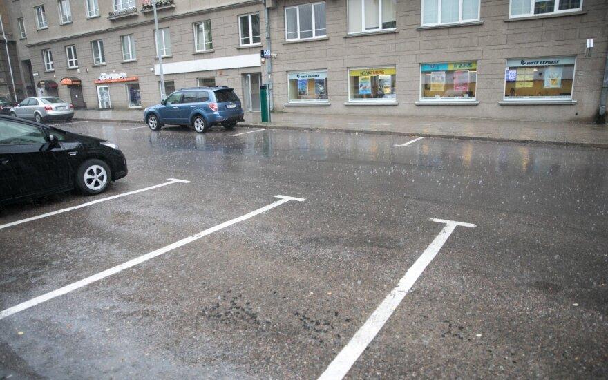 В Вильнюсе прошел ливень: синоптики о шквале говорят с осторожностью