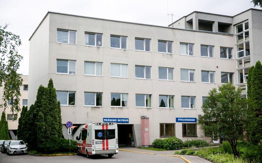 НЦОЗ: ситуация в Вильнюсской клинической городской больнице сложная