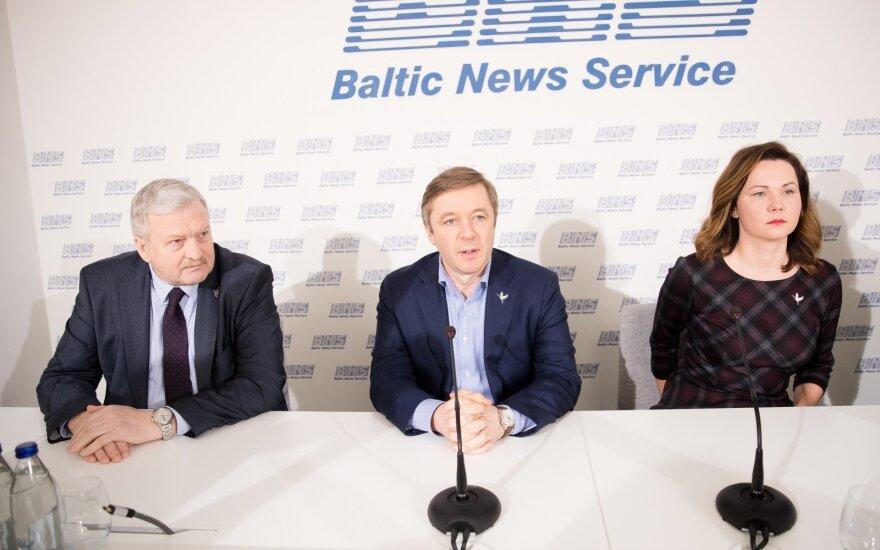 Bronis Ropė, Ramūnas Karbauskis, Ausma Miškinienė